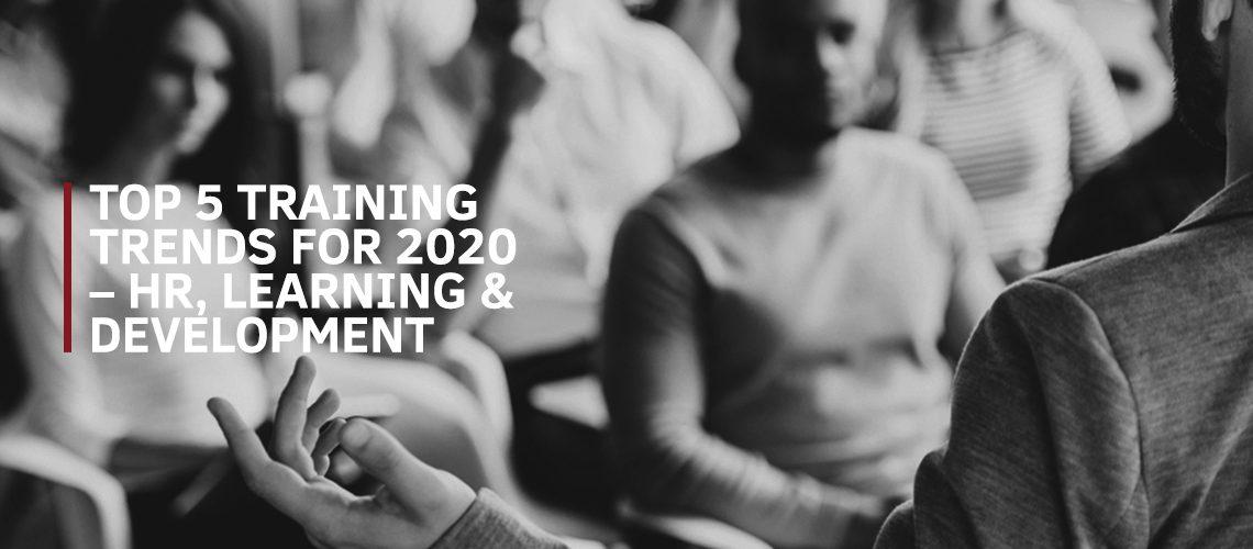 8 Top 5 Training Trends